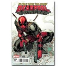 Deadpool-affiche Art Superhero   En tissu de soie, imprimée, 13x20 24x36 pouces, image de film tendance pour salon, décor mural 013