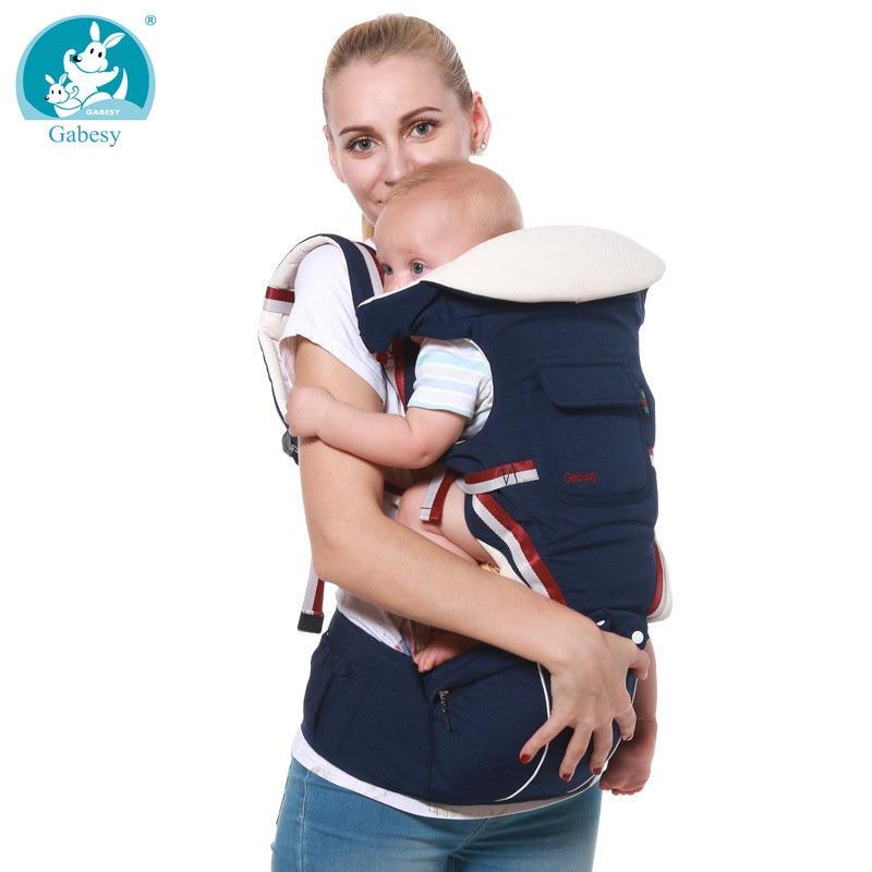 Di lusso 9 in 1 Baby Carrier Ergonomica Carrier Zaino Seggiolino Da Anca Hipseat per il neonato e prevenire o-tipo gambe fionda Bambino canguri new born