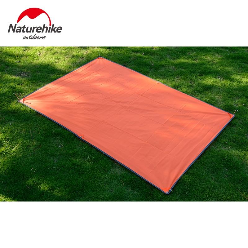 Naturehike 2-3 person Waterproof PU Coating High Quality 210T Oxford Material Camping Picnic Beach mat Tent Roof Tarp