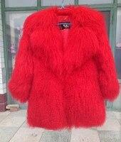 real mongolia sheep fur coat women full pelt mongolia sheep fur jacket fur coat customized plus size free shipping f2019