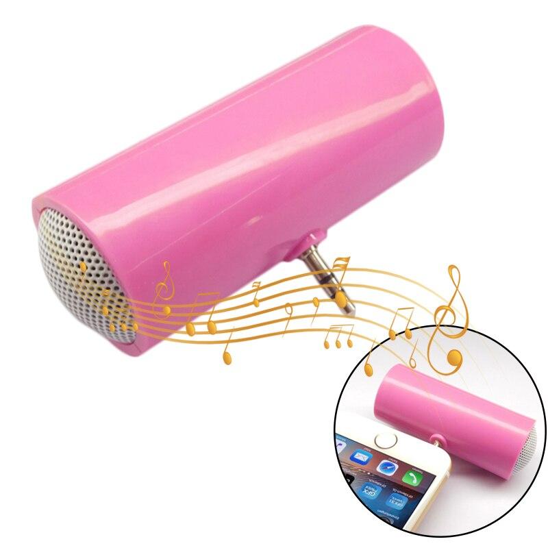 3.5 milímetros AUX Direta Inserção Estéreo Mini Speaker Portátil Altifalante do Telefone MP3 Altifalante Música Para O Telefone Móvel Tablet