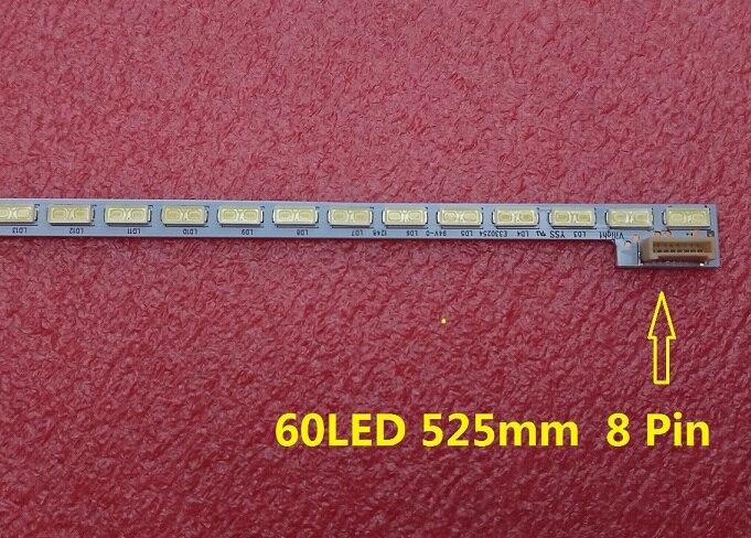 Nova 60 LEDs 525 milímetros tira conduzida luz de fundo para LG Innotek 42LS570T T420HVN01.0 74.42T23.001-2-DS1 42 Polegada 7030PKG 60ea