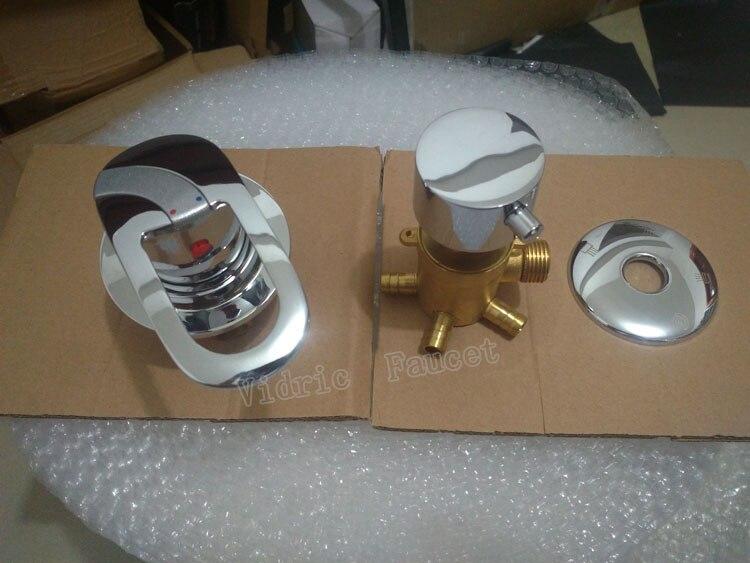 Vidric wand montiert 2/3/4/5 Weisen wasser outlet messing dusche tippen schraube oder intubation split duschkabine dusche misch ventil