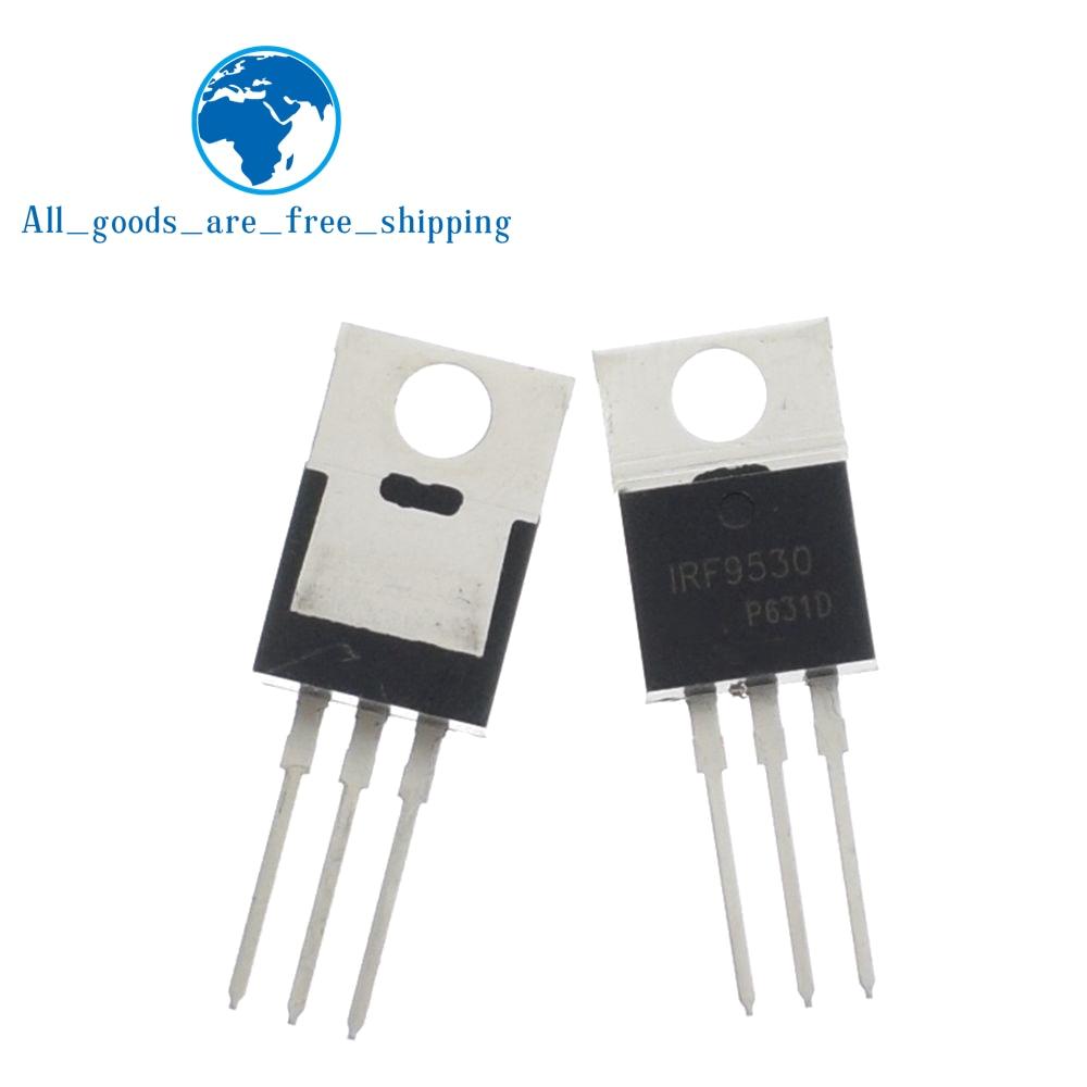 10 pçs/lote IRF9530NPBF IRF9530N 14A IRF9530 TO-220 P MOSFET 100V Original Novo