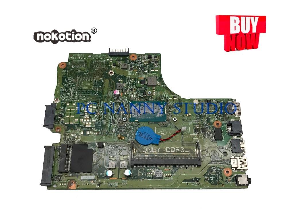 PCNANNY CW5N0 0CW5N0 FX3MC لديل انسبايرون 3543 اللوحة I3-5005U DDR3L اختبار