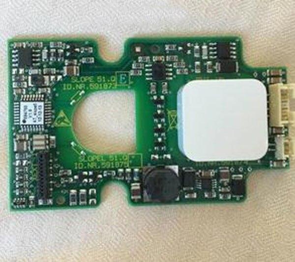 Panneau de bouton tactile dascenseur de Schindler SLOPE51.Q/ID. NR.591873/591874/591875