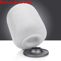 Support en acier inoxydable Kuulee pour Apple HomePod haut-parleur intelligent support pour ipad en metal antiderapant
