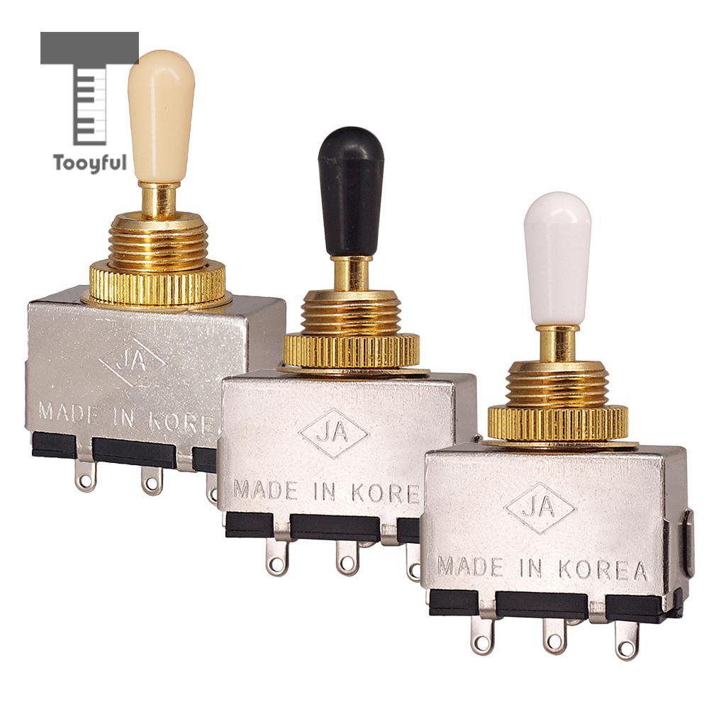 Tooyful металлический закрытый 3-позиционный кнопочный переключатель для LP аксессуары для электрогитары