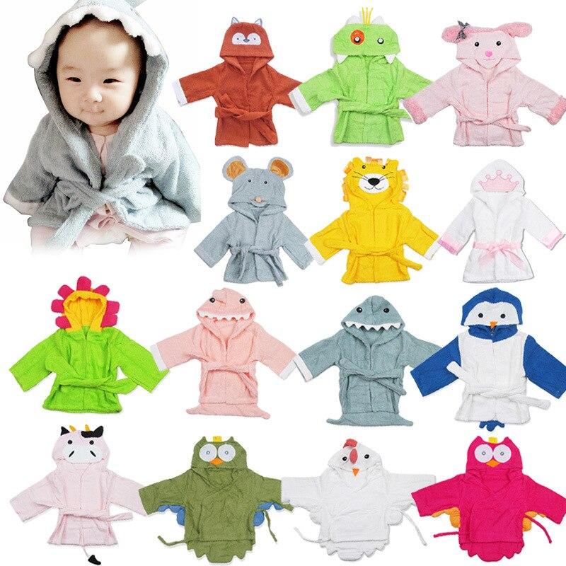 Toallas con capucha para bebé toallitas para bebé Manta con capucha suave Animal bebé Albornoz suave toalla para bebé con dibujos animados bata de baño para niños toalla infantil