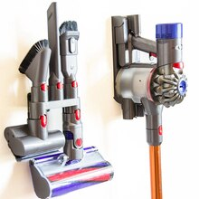 Brush Stand Tool Storage Bracket Holder Base For Dyson V7 V8 V10 V11 Vacuum Cleaner Nozzle Base Station Accessories
