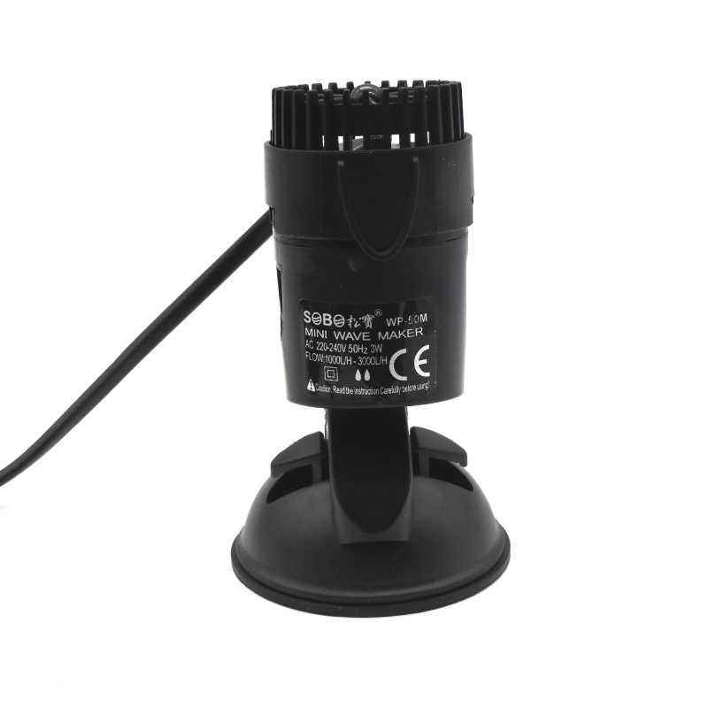 Fabricante De Olas De Acuario Sobo 3 W 10 W 15 W 25 W Con Base De Ventosa Bomba Wavemaker Sumergible Para Acuario Bombas De Agua Aliexpress