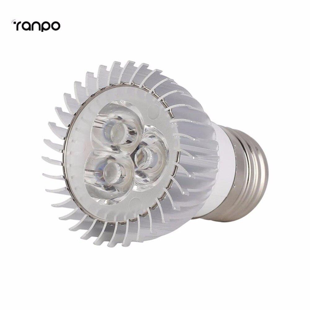 Super brillante regulable PAR16 E27 9W lámpara de Bombilla de foco LED luz 110V 220V techo blanco frío cálido