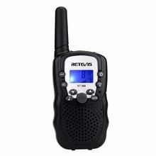 1pc Mini talkie-walkie enfants Radio rechape RT388 0.5W UHF 462-467MHz fréquence américaine Portable Radio bidirectionnelle J7027