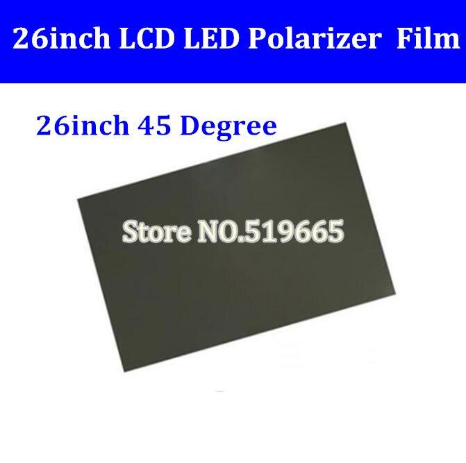 مستقطب شاشة LCD مقاس 26 بوصة و 45 درجة ، فيلم استقطاب للتلفزيون ، شاشة IPS LCD LED ، جديد
