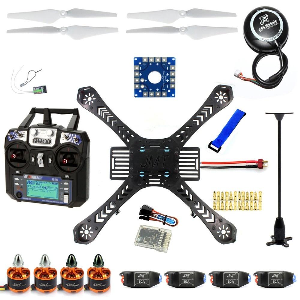 JMT F14893-H DIY Kit Quadro Zangão RC Quadrocopter RTF Com X4M380L QQ Super FS-i6 TX
