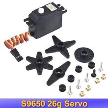 CYS S9650 25G 25 grammes Servo pour RC TREX 450 queue de verrouillage FUTABA TL2609 Tarot 500