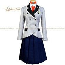 Kisstyle Shimoseka Shimoneta un monde ennuyeux où le Concept de blagues sales nexiste pas Hyouka Fuwa uniforme Cosplay Costume