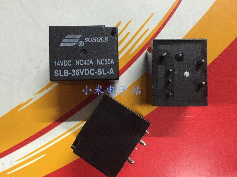 SLB-36V 48VDC-SL-A فضفاض الموسيقى سيارة التتابع 6 أقدام عادة مفتوحة الأمريكية 4119 40A 14VDC