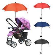 Sombrilla de cochecito de bebé carro infantil cochecito de sol Parasol de sombra silla de ruedas plegable ajustable