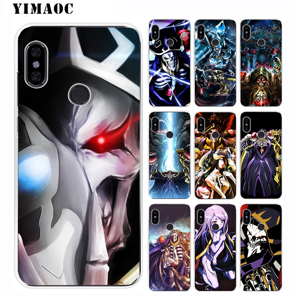 YIMAOC Overlord III Anime Capa de Silicone Macio para Xiao mi mi 9 8 SE 6 6X 5X mi x 2 S A2 Lite A1 Xiao mi mi POCOPHONE F1 MAX 3