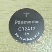 Panasonic CR2412 CR 2412 3 V Lithium pièce batterie montre porte-clés Batteries pour montre swatch pour LEXUS voiture contrôleur