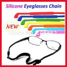 JC4001 lunettes antidérapantes en Silicone   Nouvelle qualité, lunettes à cordon chaîne, porte-lunettes 12 couleurs, livraison gratuite 20 pièces
