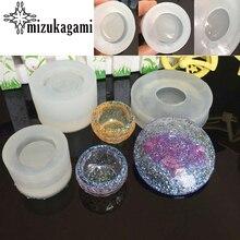 1 pçs resina uv 3d tigela prato silicone molde de resina diy simulação tigela jóias processo de fabricação resina molde para jóias