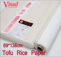 Chinese Tofu Rice Paper decoupage painting paper drawing Xuan Paper watercolor paper painting supplies