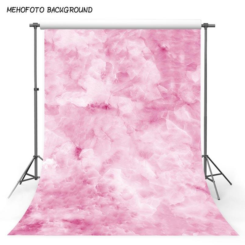 Fondo fotográfico Floral Rosa brumoso 5x7 Fondos de vinilo para estudio fotográfico suelo de mármol natural para niños foto de cumpleaños