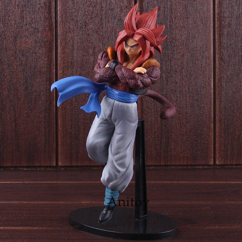 Figura Banpresto de figura DE ACCIÓN DE Dragon Ball, esculturas de Coliseo, gran personal especial, Gogeta Super Saiyan 4, juguete de modelos coleccionables de PVC