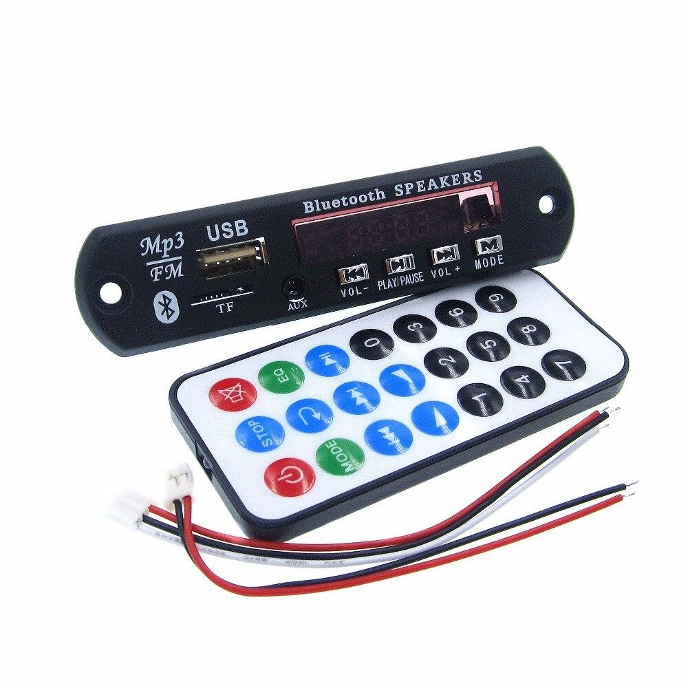 HAILANGNIAO 5 مجموعة بلوتوث MP3 فك مجلس وحدة w/ SD فتحة بطاقة/USB/FM/عن بعد فك مجلس وحدة M011