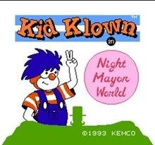 Kid Klown 60 Pin carte de jeu personnalisée pour 8 bits 60 pins joueur de jeu