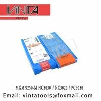 free shipping high quality MGMN250-M NC3030 / MGMN250-M NC3020 / MGMN250-M PC9030 cnc carbide glooving inserts