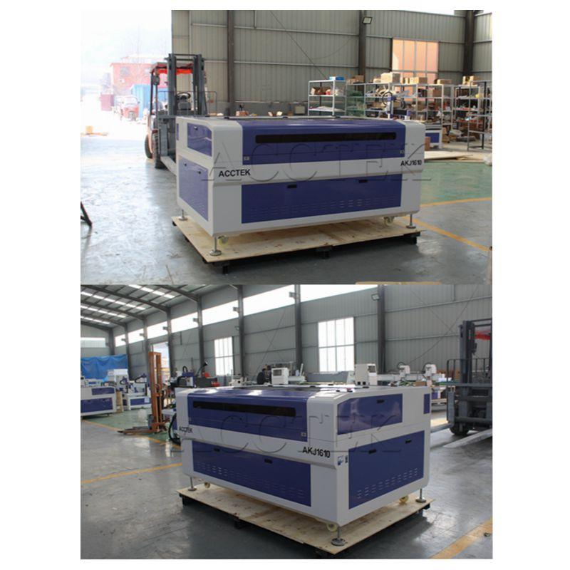 Co2 máquina de corte por láser de corte de madera/cuero/de espuma de pvc/madera contrachapada cnc 3d máquina de grabado láser