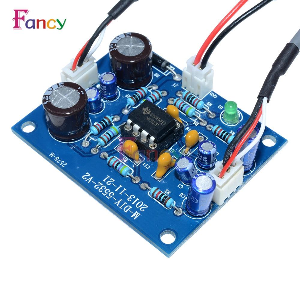 NE5532 OP-AMP HIFI Preamplifier Signal Bluetooth Amplifer Preamplifier Board In Stock