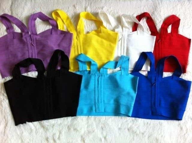 7 цветов, обтягивающий бандажный топ на бретельках для девочек, пикантная праздничная одежда