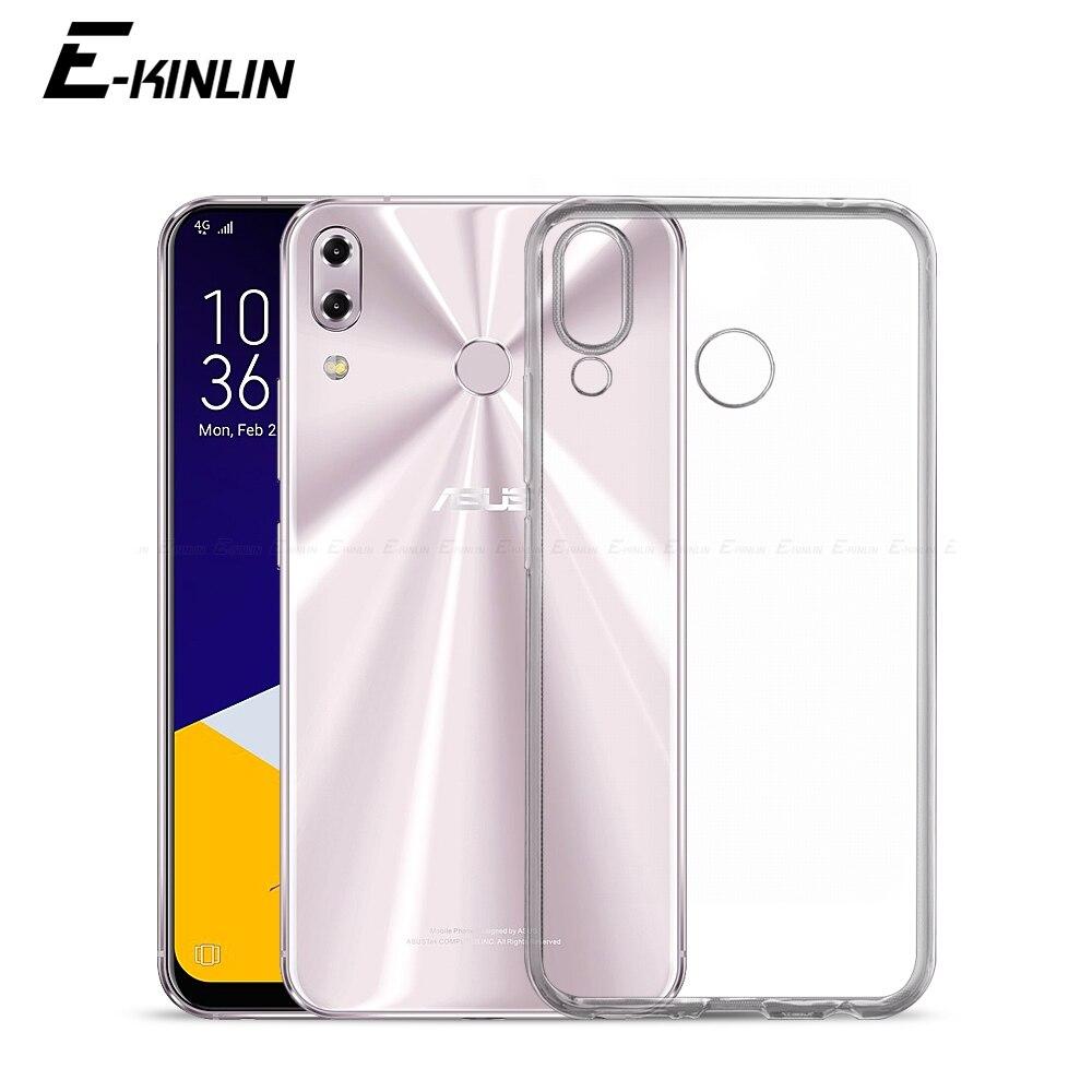 Прозрачный Ультра тонкий мягкий силиконовый чехол для Asus ZenFone 6 ZS630KL 5Q Selfie 5 Lite 5Z ZC600KL ZE620KL ZS620KL TPU чехол для телефона