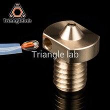 Trianglelab imprimante 3D E3D buse Hotend V5 V6 pour chaud fin bloc de chaleur kit de mise à niveau pour E3D V6 HOTEND thermistance peut être inséré