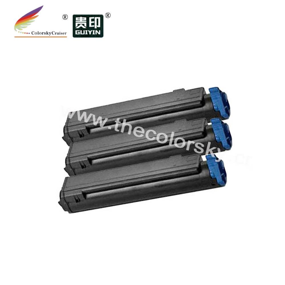 (CS-OB440A) cartucho láser de Tóner para impresora OKI B440 B430 MB470 MB460 MB480 43979202 43979201 (7000 páginas) Fedex gratis