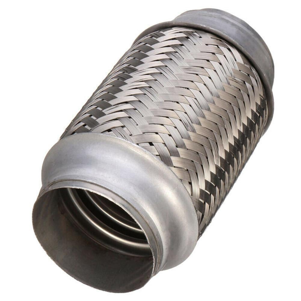 63*153 мм автомобильный выхлопной Сильфон из нержавеющей стали сварная Гибкая соединительная трубка для глушителя выхлопной трубы автомобильные аксессуары
