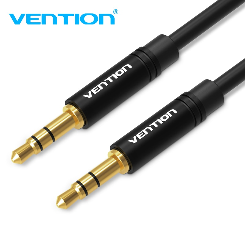Vention 3.5mm Jack Audio Cable 3.5 Male to Male Cable Audio 90 Degree Right Angle AUX Cable for Car