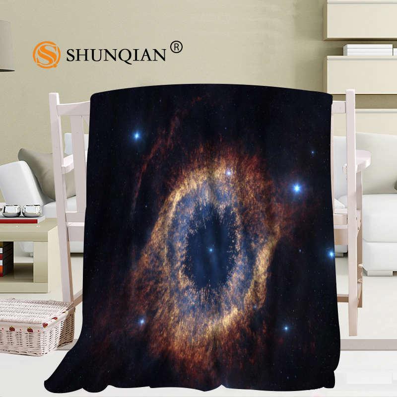 الفضاء غالاكسي بطانية لينة أريكة السرير رمي بطانية طفل الكبار مخصص بطانية 56x80Inch50X60Inch40X50Inch