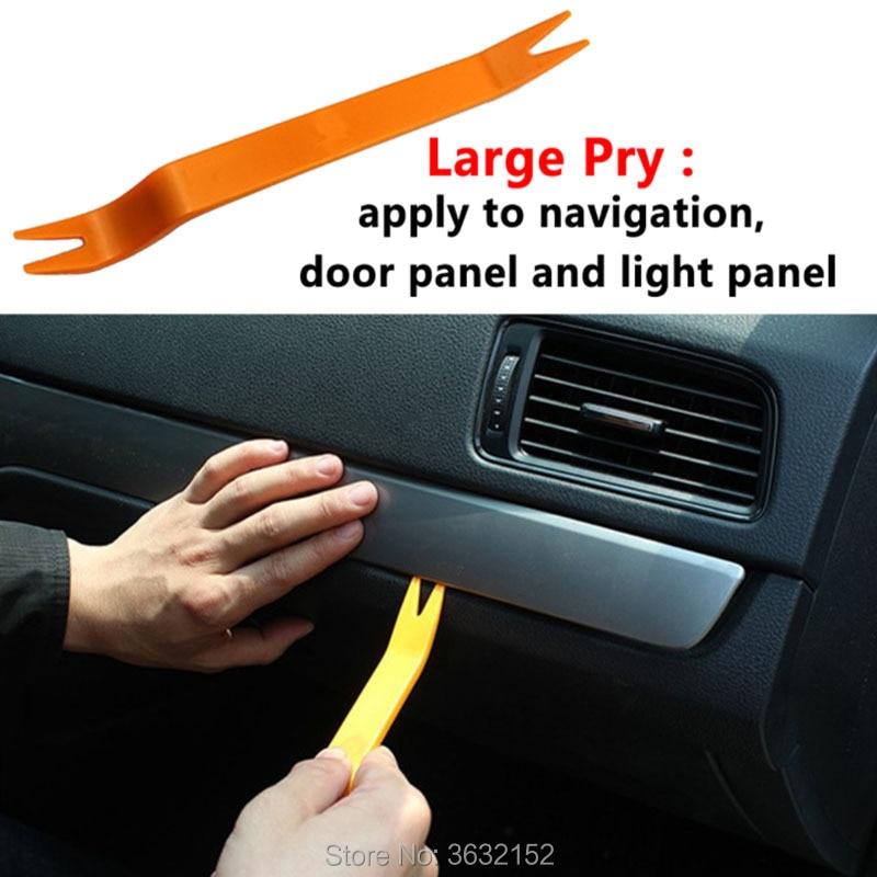 12 Uds Radio de coche de plástico kit de herramientas de desmontaje de coche accesorios para el coche accesorios de estilo para mazda 3 6 2 5 CX-5 CX-7 CX-3 323 ATENZA Axela