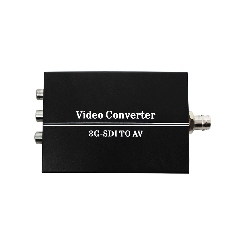 3G SDI لتحويل AV BNC إلى RCA الصوت المتسلق دعم تحويل SD-SDI ، HD-SDI ، 3G-SDI إشارة ليتم عرضها على التلفزيون