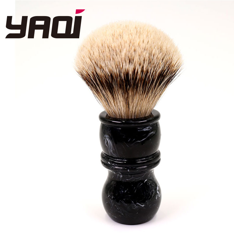 Yaqi 24MM brocha de afeitar brocha de tejón