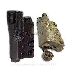 Boîtier DE batterie tactique factice AN/PEQ-16 BK DE pour AEG RIS GBB Airsoft Gear film boîtier DE Cosplay