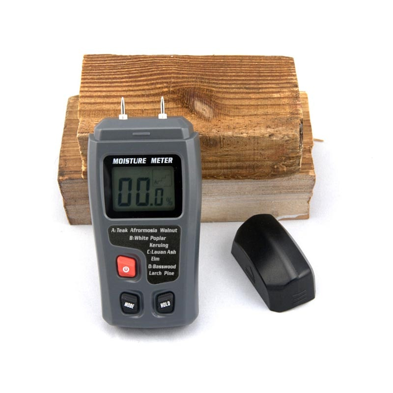 Needle type digital display wood moisture tester / Measuring instrument for wood moisture content / wood moisture meter недорого