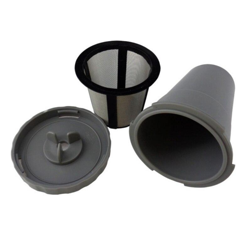 Cestas de filtro compatibles rellenables de plástico cestas de cápsulas blandas para uso doméstico cápsulas de té de café reutilizables