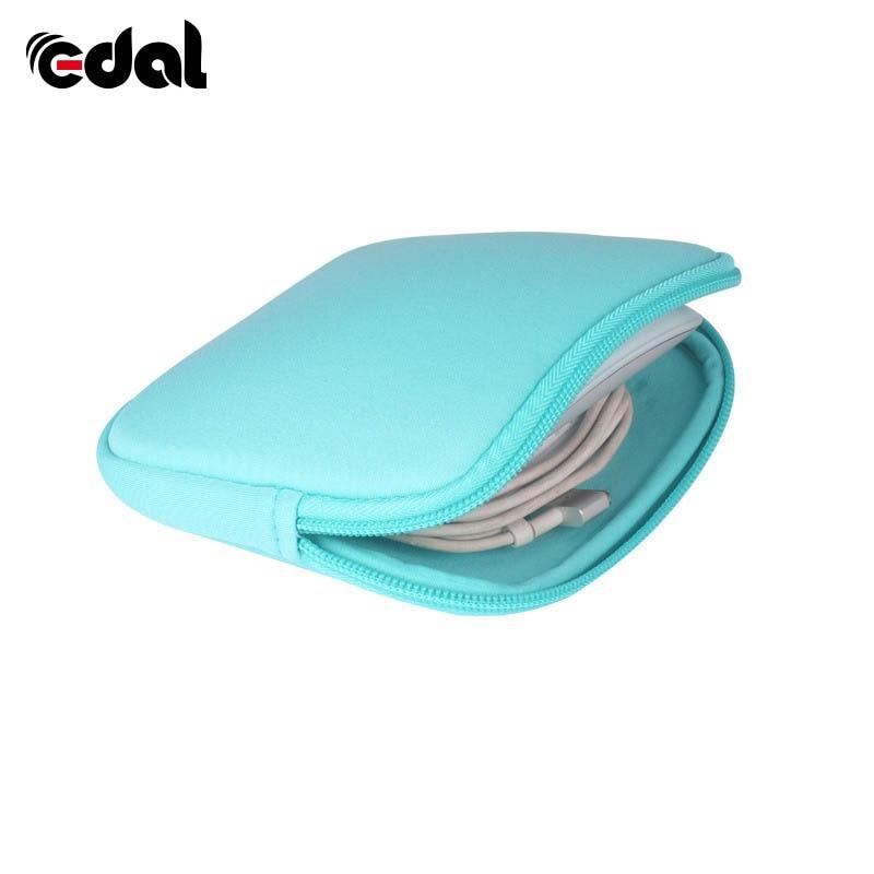 Moda Chic impermeable de Color caramelo manga lindo portátil Notebook adaptador/ratón bolsa caso para Macbook bolsa