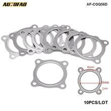10PCS/LOT Turbo Exhaust Downpipe Gasket For Skoda Octavia, For VW Bora, For VW Golf IV AF-CGQ56D